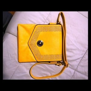 Handbags - Gold cross body bag